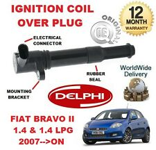 FOR FIAT BRAVO II 1.4 & 1.4 LPG 2007-->ON NEW ORGINAL IGNITION COIL OVER PLUG