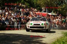Didier AURIOL TOYOTA CELICA GT-FOUR ST205 TOUR DE CORSE RALLY 1995 fotografia 2