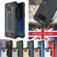 Phone Case For Samsung models Shockproof Tough Armor Heavy Duty Phone Cover