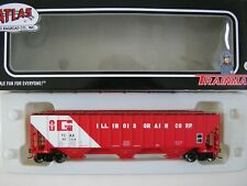 Atlas Trainman HO Thrall 4750 Covered Hopper Illinois Grain TCAX 60158