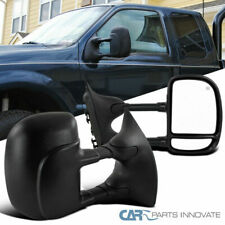 99-07 Ford F250 F350 F450 F550 Super Duty Power Heated Extend Tow View Mirrors