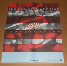 The Vandermark 5 Target or Flag Poster Original Promo 16x19 Rare