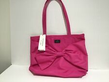 Kate Spade On Purpose Nylon Tote UVRU0143 Bougainvillea Fuchsia Sold Out! NWT