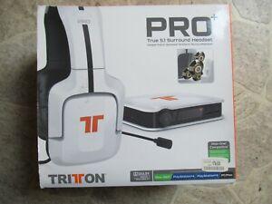 Mad Catz Tritton Pro+ 5.1 Surround Headset X360 / PS4 / PC/MAC weiß