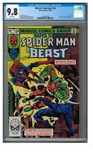 Marvel Team-Up #124 (1982) Bronze Age Spider-Man CGC 9.8 White Pages FF480