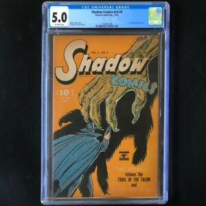 Shadow Comics V5 #9 (1945) 💥 CGC 5.0 💥 Doc Savage Golden Age Street & Smith