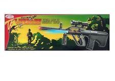 Toy Kids TD2013 Military Assault Machin Gun with Vibration Sound Flashing Light