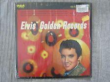 ELVIS PRESLY ~ ELVIS' GOLDEN RECORDS  VINYL RECORD LP / 1964 RCA RECORDS