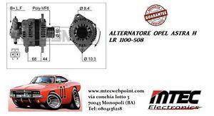 A2806 Genuine Alternator With Clutch Pulley Vauxhall Astra H 1.7 CDTI Diesel