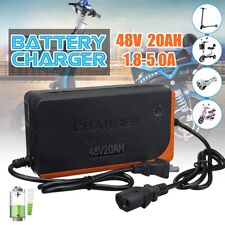 48V 20AH Electric Scooter Bike Lead Acid Battery Charger Power Charge Adapter