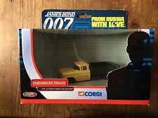 Corgi james bond chevrolet truck TY06701, de la russie avec amour