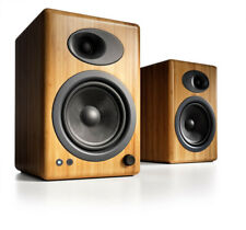 Audioengine A5+ Premium Bookshelf Speakers  - 50 Watts (Bamboo)
