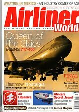 Airliner World 2015 May Mexico,Air Lituanica,LAM,Heathrow,Boeing 747
