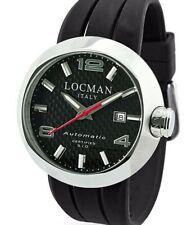 Men's Watch Locman Change Automatic 3 Straps Spare Parts Skin Rubber Steel