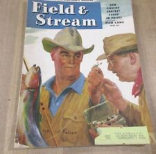 Field & Stream Magazine May 1946 Hunting & Fishing Arthur D Fuller Cover      >