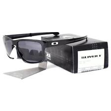 Oakley OO 9246-01 SLIVER F Foldable Matte Black Grey Mens Sports Sunglasses New