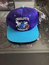 Charlotte Hornets Official NBA Vintage SnapBack Retro 2-Tone Cap Hat New!