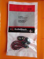 9V Battery Snap Connectors  270-0325 RadioShack
