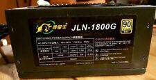 JLN-1800G ATX PSU 1800W Power Supply Unit for 8 GPU mining machines