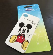 For iPHONE 4 4S - RED WHITE CLASSIC MICKEY MOUSE HARD PROTECTOR SKIN CASE COVER