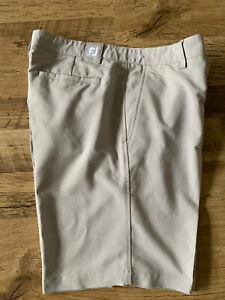Mens Footjoy FJ Tailored Golf Shorts Size Waist 36