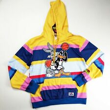 Space Jam 100%AUTHENTIC mens size LARGE LS multicolor bugs bunny hoodie