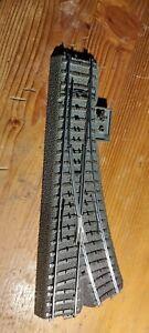 Märklin C-Gleis Weiche links mit Antrieb und prog. Decoder funktionsfähig