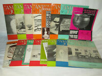 """Vintage Lot of 16 """"The Antiques Journal"""" Magazines 60s"""