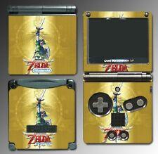 Legend of Zelda Skyward Sword Link Special Video Game Skin Cover Nintendo GBA SP
