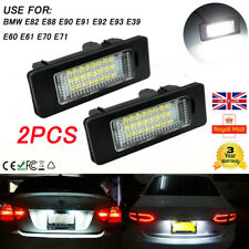 2 LED License Number Plate Light for BMW E39 E60 E82 E70 E90 E92 X3/6/5 Series