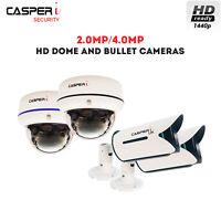 CASPERi 2MP/4MP HD CCTV surveillance Cameras 1080p/1440p Motion Detection HD