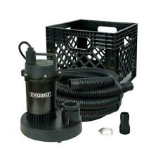 Everbilt 1/4 HP Submersible Utility Pump Kit SBA025RP All in One