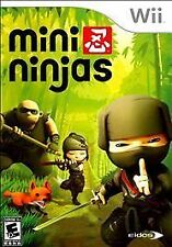 Mini Ninjas (Nintendo Wii, 2009) Complete with Case, Manual and Game