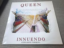 "QUEEN - FREDDIE MERCURY SPANISH 12"" MAXI SPAIN INNUENDO explosive version EMI 91"