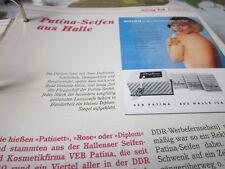 Das war die DDR Alltag Einkaufen Patina Seifen aus Halle