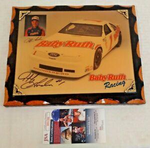 JEFF GORDON Autographed 1992 Hero Card NASCAR ROOKIE SIGNATURE JSA Baby Ruth #1