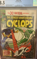 X-Men #45 CGC 8.5 Marvel. Origin Of Iceman KEY Off White Silver Age