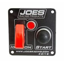 JOES Racing Products 46115 Switch Panel, Ignition, Start Button With Lights
