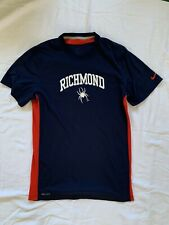 University Of Richmond Nike Dri Fit Shirt Short Sleeve T Shirt - Small Blue