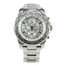 Seiko Criteria SNAC57 P1 Silver Dial Men's Chronograph Alarm Quartz Watch