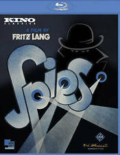 Fritz Lang's Epic SPIES (1928) Blu-ray 2K Digital Restoration & Special Features