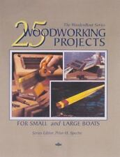 25 Woodworking Projects for Small and Large Boats (Paperback or Softback)