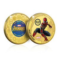 Marvel Gifts Avengers Spiderman Infinity War Limited Edition Collectable Coin