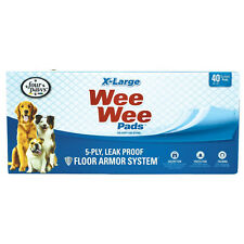 "40x Four Paws Wee Wee X-Large(28"" x 34"") Pads for Puppies to Adult Dogs"