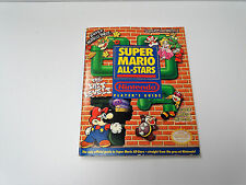Super Mario All-Stars SNES Super Nintendo Official Player's Strategy Guide RARE