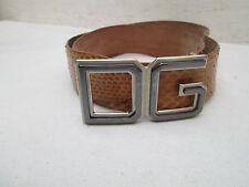 Auth  ceinture DOLCE & GABBANA  cuir reptile 85cm - 34 inch vintage