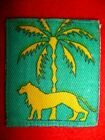 Singapore District Printed Army Formation Patch / Sign Post WW2 - UK
