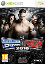 WWE Smackdown VS Raw 2010 (Wrestling) XBOX 360 IT IMPORT THQ
