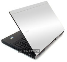 WHITE Vinyl Lid Skin Cover Decal fits Dell Precision M6400 M6500 Laptop