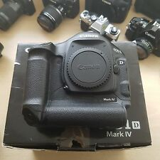 Canon EOS 1D 4 Mark IV 16.1MP Digital SLR Camera CHARGER, BATTERY + BOX
